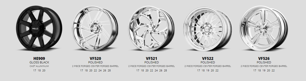 forged wheels for ford f-100 series