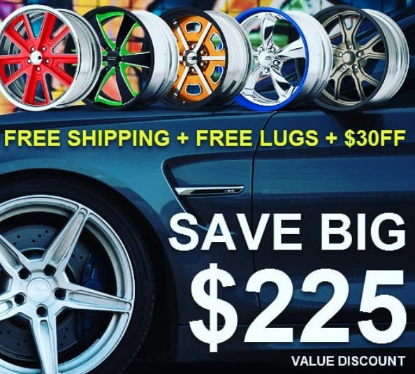 wheel and tire package instant savings