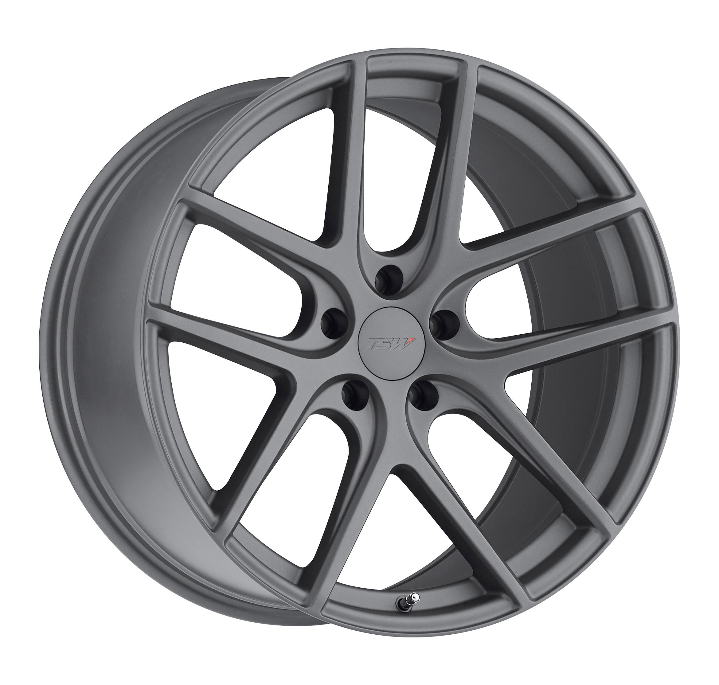 Tsw Geneva Matte Gunmetal Wheels And Rims Packages At Rideonrims Com