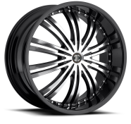 2CRAVE - NO.1-gloss black with machined face