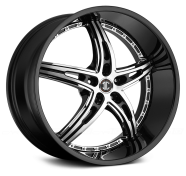 2CRAVE - NO.25-gloss black with machined face