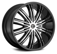 2CRAVE - NO.7-gloss black with machined face