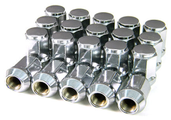 Chrome lugs - Reg. 20 units kit