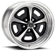 AMERICAN RACING - AR500-2- piece gloss black/polished with polished rim
