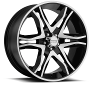 AMERICAN RACING - AR893  MAINLINE-gloss black machined