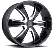 AMERICAN RACING - AR894-gloss black machined