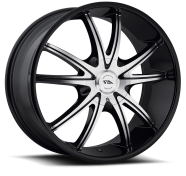 AMERICAN RACING - AR897-gloss black machined
