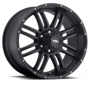 AMERICAN RACING - -satin black