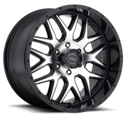 AMERICAN RACING - AR910-gloss black with machined face