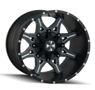 CALI OFFROAD - OBNOXIOUS-satin black milled spokes