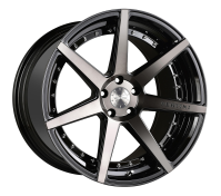VERTINI WHEELS - DYNASTY-gloss black tinted face