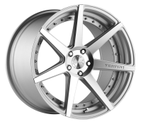 VERTINI WHEELS - DYNASTY-matte silver machined face