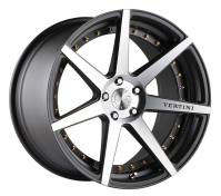 VERTINI WHEELS - DYNASTY-slate gray machine face