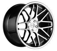 VERTINI WHEELS - MAGIC-machine black chrome lip