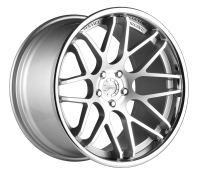 VERTINI WHEELS - MAGIC-machine silver chrome lip