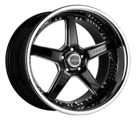 VERTINI WHEELS - DRIFT-machine black chrome lip