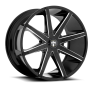 DUB - PUSH S109-black milled