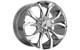 Custom - 18x8 Chrome Lexani Lust