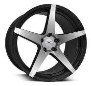 FATHOM WHEELS - STERN-satin black machined face