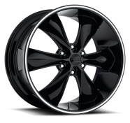 FOOSE - F138 LEGEND SIX-gloss black