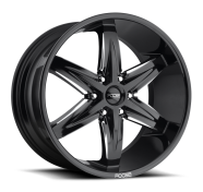FOOSE - F162 SLIDER-gloss black milled
