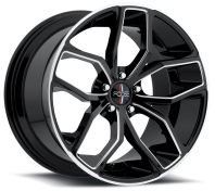 FOOSE - OUTCAST F150-black gloss milled