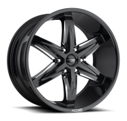 FOOSE - SLIDER F162-black milled gls