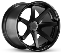 FERRADA - FR1-flat black with gloss lip