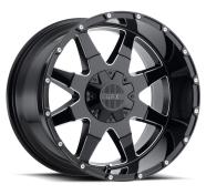 G-FX - TR-12-gloss black milled