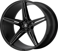 ASANTI BLACK - ABL-22 ALPHA 5 -gloss black milled
