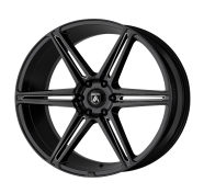 ASANTI BLACK - ABL-25 ALPHA 6 -gloss black milled