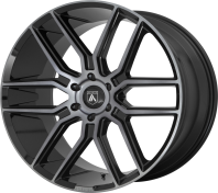 ASANTI BLACK - ABL-28 BARON -baron gloss black w/ gray tint
