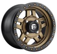 FUEL - D583 ANZA -fuel 1pc anza matte bronze black bead ring