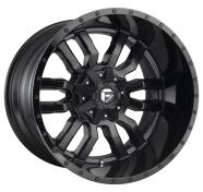 FUEL - D596 SLEDGE -fuel 1pc sledge matte black gloss black lip