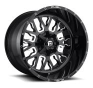 FUEL - D611 STROKE -fuel 1pc stroke gloss black milled