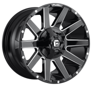FUEL - D615 CONTRA -fuel 1pc contra gloss black milled