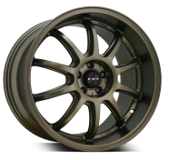 HD WHEELS - CLUTCH-satin bronze