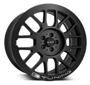 HD WHEELS - GEAR-satin black
