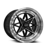 HD WHEELS - RS-L-gloss black machined