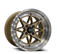 HD WHEELS - RS-L-gloss gold machined