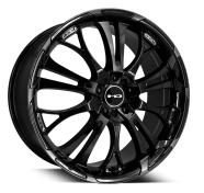 HD WHEELS - SPINOUT-gloss black