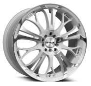 HD WHEELS - SPINOUT-gloss white machined face