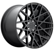 ROTIFORM - R112 - 18X8.5 5X100.00 MATTE BLACK (35 MM) -rotiform 1pc blq matte black