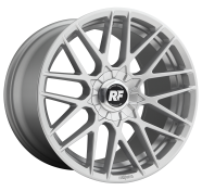 ROTIFORM - R140 - 17X8 4X100.00/4X114.30 GLOSS SILVER (40 MM) -rotiform 1pc rse gloss silver
