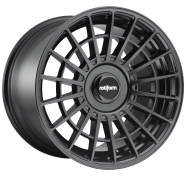 ROTIFORM - R142 - 17X8 4X100.00/4X114.30 MATTE BLACK (40 MM) -rotiform 1pc las-r matte black