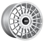 ROTIFORM - R143 - 17X9 4X100.00/4X114.30 GLOSS SILVER (30 MM) -rotiform 1pc las-r gloss silver