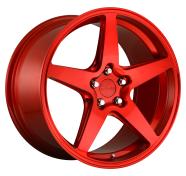ROTIFORM - R149 - 18X8.5 5X112.00 CANDY RED (45 MM) -rotiform 1pc wgr candy red