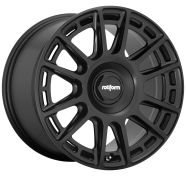 ROTIFORM - R159 - 18X8.5 5X100.00/5X114.30 MATTE BLACK (35 MM) -rotiform 1pc ozr matte black