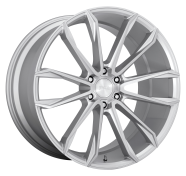 DUB - S248 CLOUT -dub 1pc clout gloss silver brushed
