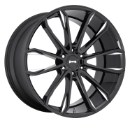 DUB - S252 CLOUT -dub 1pc clout gloss black milled